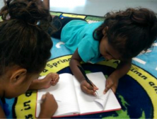 Civic action and learning with a community of Aboriginal Australian young children